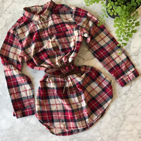 2fe32ccdab9ad ✨💕HP 💕✨ Zara Girls Plaid Dress. M_5c006312534ef949863eac89